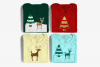 Deer with Snowy Tree SVG File example image 1
