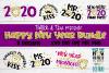 New Years 2020 SVG Bundle example image 1