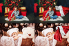 Christmas overlays Santa Claus Hand clipart png Photoshop example image 4
