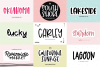 The Mini Crafty Bundle - 10 Fun & Quirky Fonts example image 2