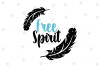 Free Spirit Feather SVG File example image 1