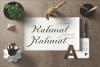 Nantiya font duo example image 2