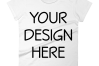 Anvil 880 Ladies Fit T-Shirt Mockups - 17 | PNG|3000x3000px example image 18