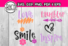 Kind words - Love, Inspire, Laughter, Smile example image 1