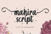 Mahira | Sweet Script Font example image 9