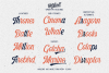 Harlend 6 fonts with extras intro example image 5
