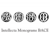 Intellecta Monograms BACE example image 3