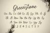 Greenstone Script - Font example image 3