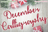 December Calligraphy example image 1