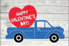 Valentine truck svg - truck SVG - Valentine truck WITH HEART example image 2