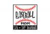 Baseball Mom SVG * Baseball Thread SVG Cut File example image 1