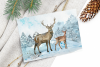 Watercolor Winter Woodland Clip Art Set example image 4