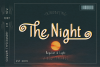 The Night Typeface example image 1