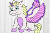 Unicorn bundle cut files, unicorn svg, nursery svg example image 5