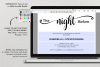 The night before, Rehearsal Dinner Invitation template example image 4
