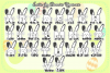 Easter Joy Bunnies - A Lovely Craft Font example image 3