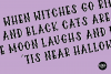 DEFINITELY HAUNTED A Spooky Halloween .OTF Font example image 3
