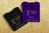 Rhinestone LGBT Parents Pride Heart SVG Template Set example image 1