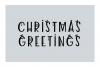 Decorated - a jolly christmas font example image 3