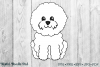 Cute Bichon Set by Digital Doodle Pad example image 2