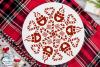Winter Mandala SVG Bundle | Christmas Mandala SVG Cut Files example image 8