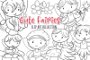 Cute Fairies Digital Stamps example image 1