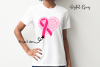 Breast cancer survivor, heart SVG / DXF / EPS / PNG file example image 3
