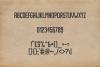 Imprimo Letterpress Font example image 3