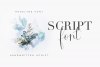 Roselyne Calligraphy Script Font example image 2
