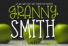Granny Smith - An All Caps Font With Three Weights example image 1