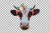 Cows with floral crown clip art. Not today heifer graphic example image 5