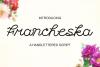 Francheska Font example image 1