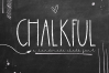 Chalkful - A Handmade Chalk Font example image 8