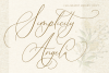 Simplicity Angela - Calligraphy Font example image 13