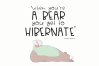 Bearly Awake - Handwritten Font example image 2
