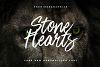 Stone Hearts Font example image 1