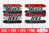 Brush Stroke Frames | SVG Cut File example image 3