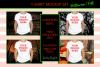 Halloween and Fall Boys t-shirt Mockup Bundle, White tShirt example image 1