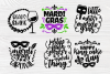 Mardi Gras SVG Bundle | 20 Funny Mardi Gras Quotes example image 5