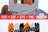 Basketball Grandma | SVG Cut File example image 3