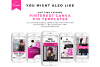 Hot Pink Fashion Canva template Ebook example image 12