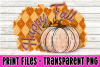 6 PNG Happy Fall Bundle - Pumpkin Bundle - Print File example image 4