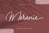 Meranie - Signature Font example image 1