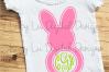Bunny Monogram Frame example image 1