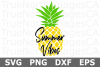 Summer Vibes - A Summer SVG Cut File example image 3