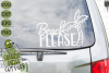 Beach Please Palm Tree SVG Cut File example image 3