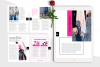 Hot Pink Fashion Canva template Ebook example image 7