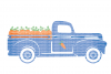 Truck SVG, Boys SVG, Easter SVG Files Printable DXF EPS PNG JPG Cut Files Circuit Design Files Silhouette Cameo Files Commercial Use example image 1