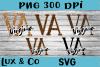 Virginia VA State Leopard Bundle example image 1