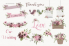 Wedding florals clipart example image 3